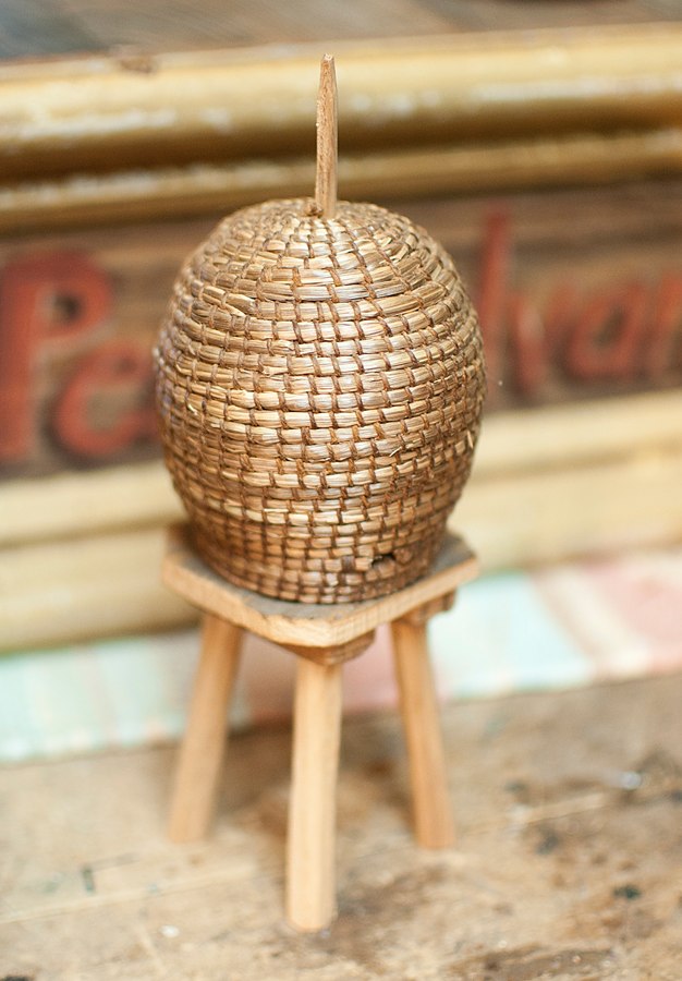 Miniature Bee Skep