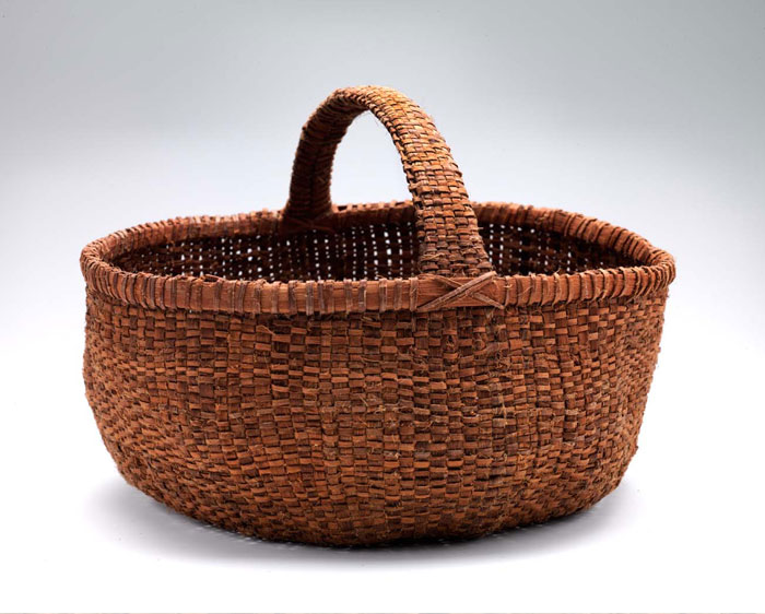 Basket in Smithsonian Exhibit