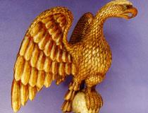 Large Gilded Eagle