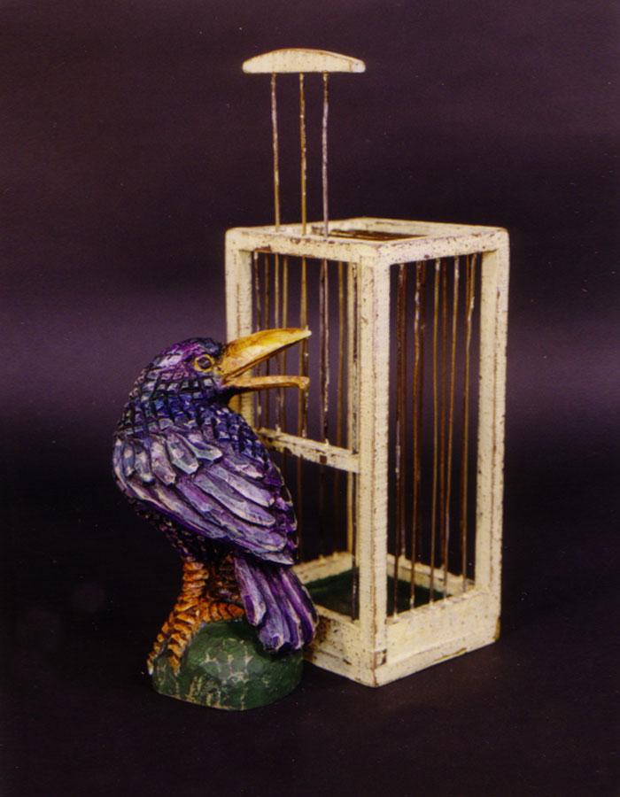 Starling in a Cage