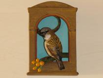House Sparrow Santo Shrine III