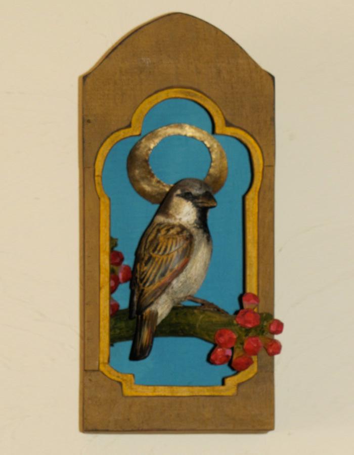 House Sparrow Santo Shrine II