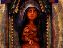 Mother & Child Retablo