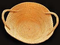 Rye Straw Burden Basket